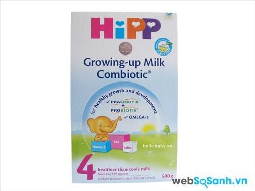 Sữa bột Hipp 4 Combiotic