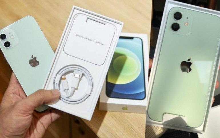 iphone 12 xanh mint