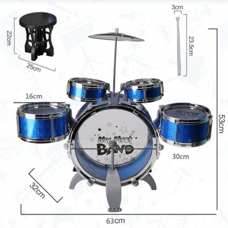 Bộ trống Jazz Drum 6 dụng cụ có gì đặc biệt?
