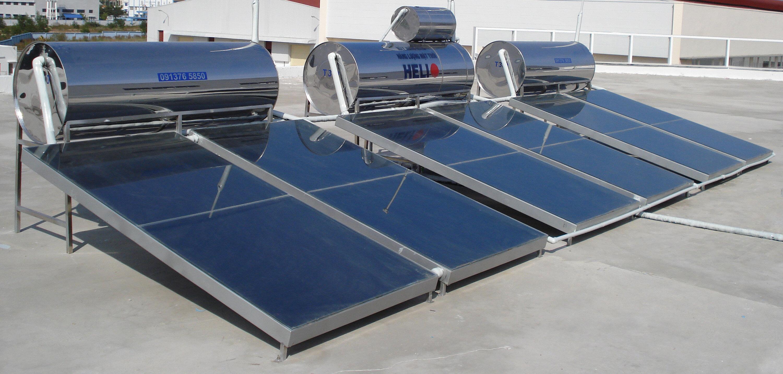 Máy nước nóng năng lượng mặt trời loại tấm phẳng
