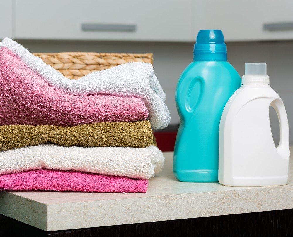 Các sản phẩm nước xả với thành phần chất làm mềm vải