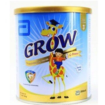Sữa bột Abbott Grow 3+ G-Power cho trẻ từ 3 - 6 tuổi 400g (Mã SP: 030206)