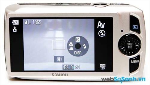 Máy ảnh compact Canon IXUS 300 HS được trang bị cảm biến BSI-CMOS kích thước 1 / 2.3