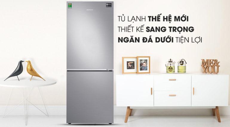 Tủ lạnh tiết kiệm điện Samsung Inverter RB27N4010S8/SV