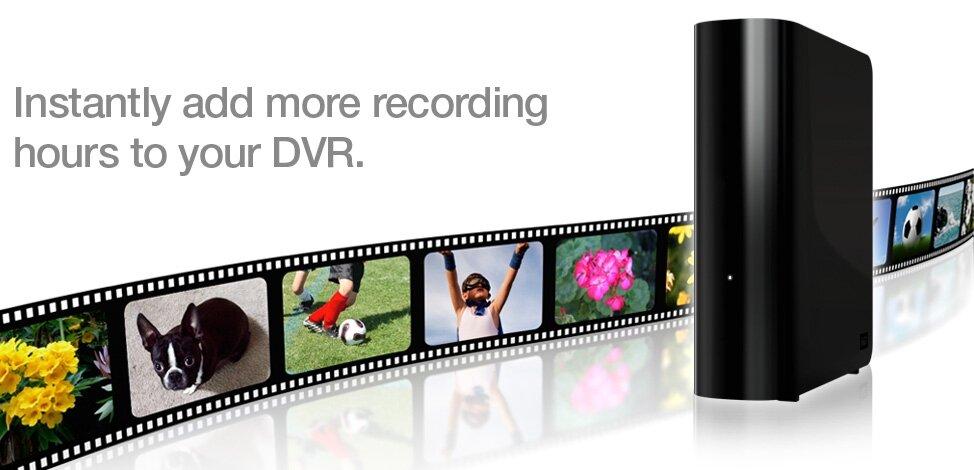 WD My Book AV DVR Expander
