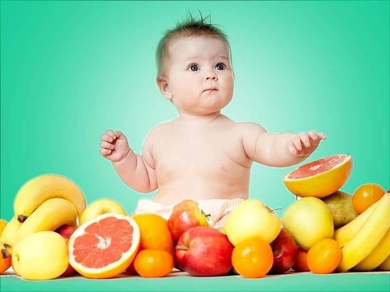 Đa dạng thực phẩm từ tự nhiên cho bé