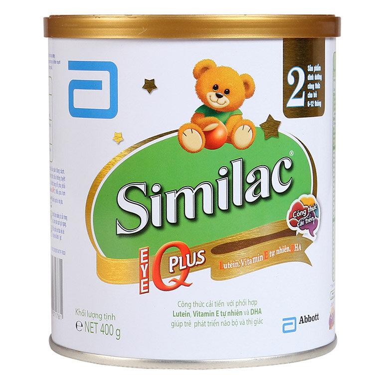 Sữa Similac IQ Plus số 2 hỗ trợ phát triển toàn diện của bé (Nguồn: bibomart.com.vn)