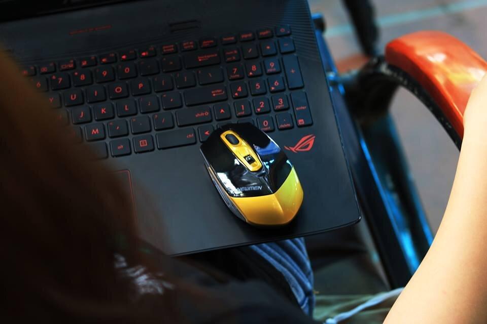 Chuột không dây Gaming Newmen F600