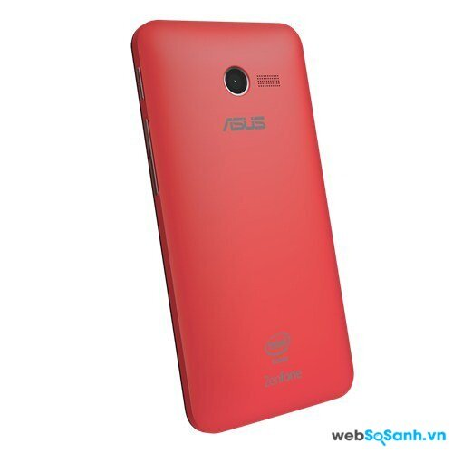 Mặt lưng của Asus ZenFone 4. Nguồn Internet