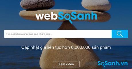 Websosanh se giữ vững lợi thế của người đi đầu