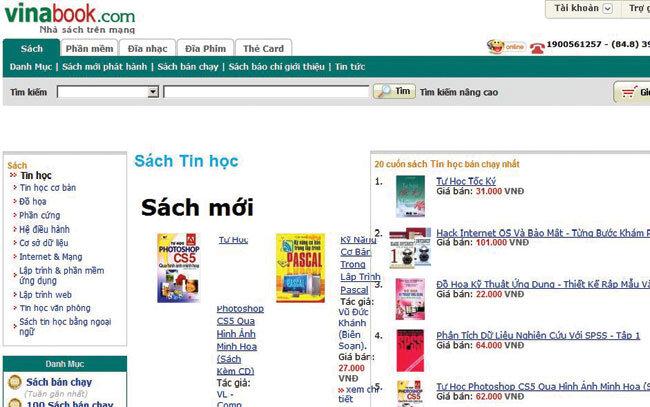 Vinabook là nhà sách uy tín hàng đầu Việt Nam