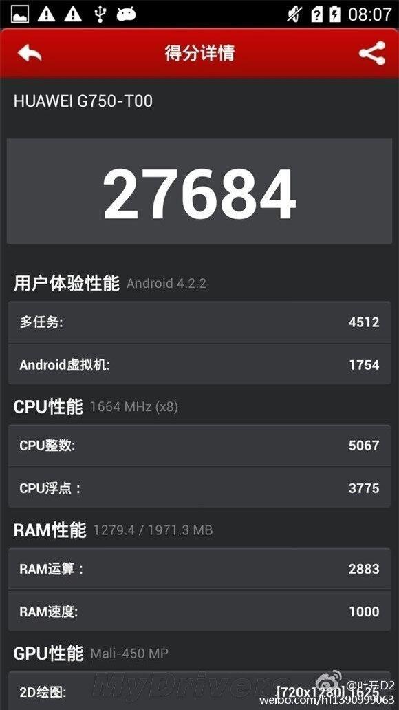 uawei G750