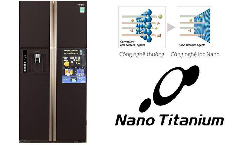 Công nghệ kháng khuẩn hiện tại của tủ lạnh hitachi Nhật Bản.