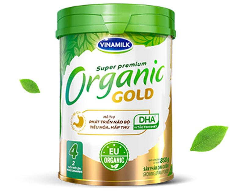 Sữa bột công thức Vinamilk Organic Gold có tốt không ?