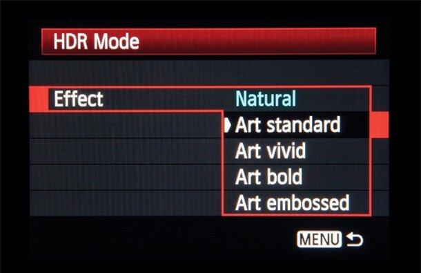 Canon EOS 5D Mark III tips: HDR mode