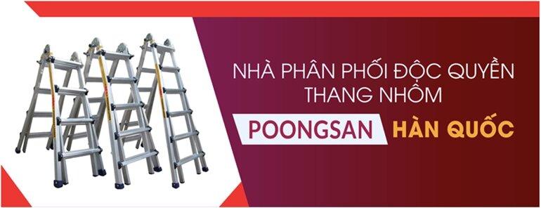 mua thang nhôm poongsan chính hãng ở đâu