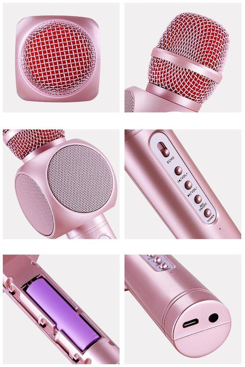 Micro karaoke tích hợp Loa Bluetooth JOWAY KGB01