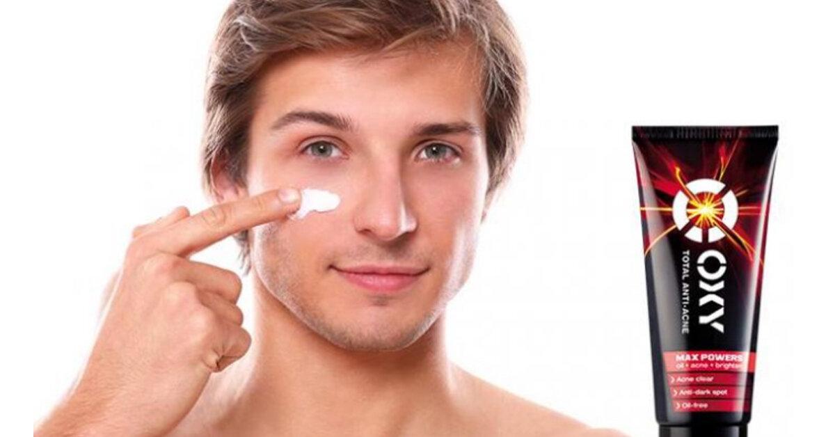 Sữa rửa mặt Oxy trị mụn cho nam là loại nào? Có tốt không? Giá bao nhiêu?