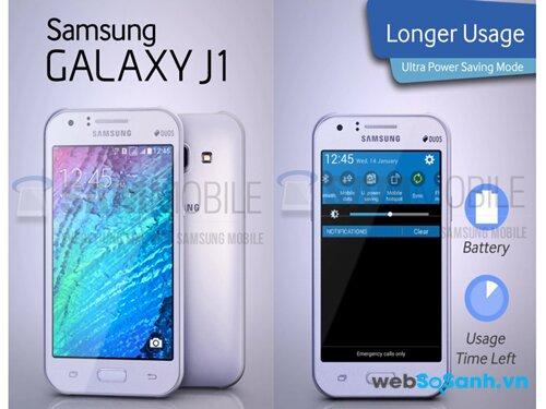 Galaxy J1 sẽ là điện thoại thông minh giá giẻ Samsung đem đến thị trường Châu âu