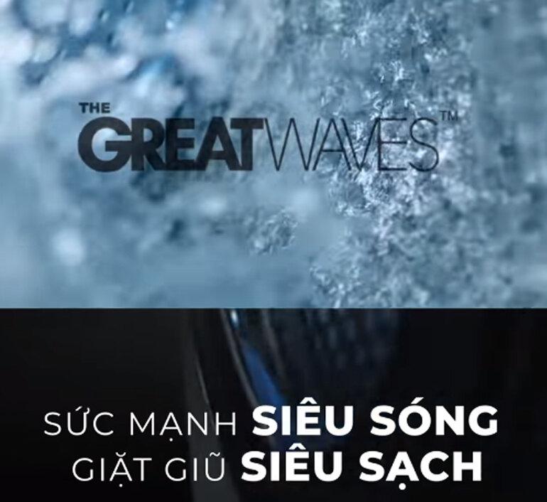 Sức mạnh giặt siêu sóng