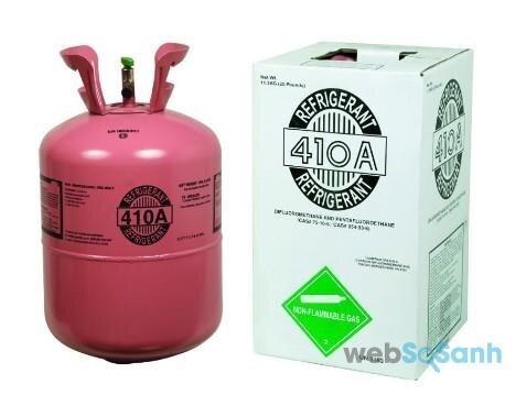 Gas điều hòa nào tốt nhất cho máy lạnh Daikin: gas 410A