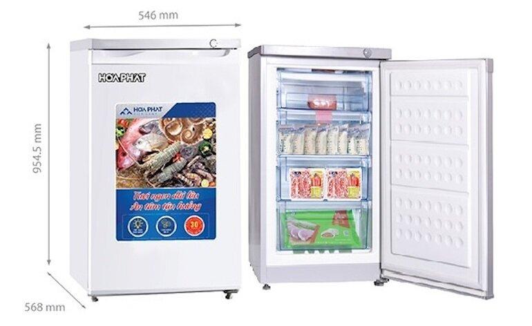 Tủ đông mini Hòa Phát 106 lít HUF-300SR1