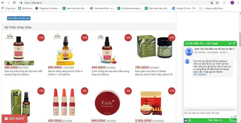 Siêu thị trực tuyến Aloola.vn nói không với hàng giả, hàng nhái, hàng kém chất lượng