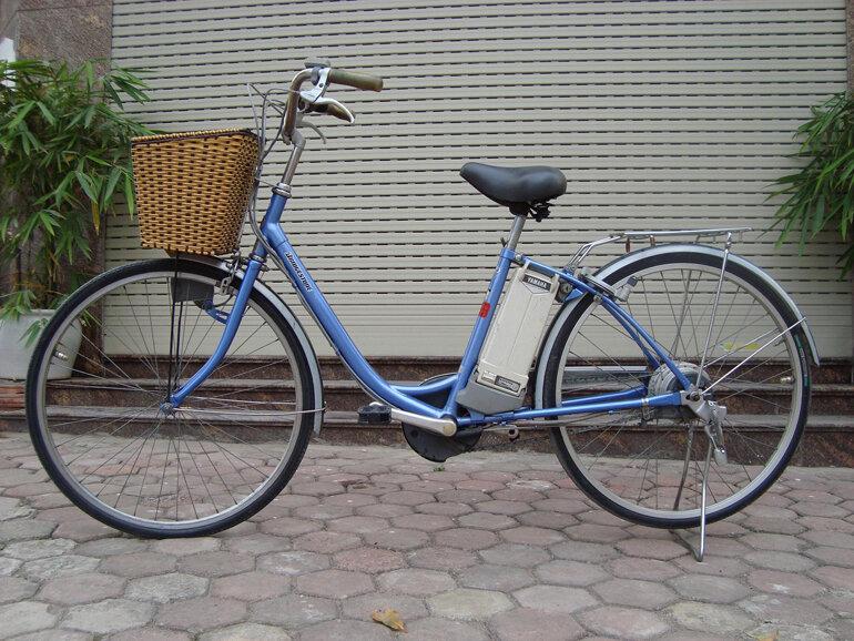 xe đạp điện trợ lực Bridgestone