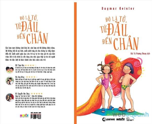 Review sách Đó là tớ, từ đầu đến chân - Cẩm nang giáo dục giới tính cho bố mẹ và con