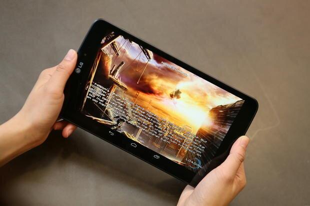 Tablet G Pad 8.3 sử dụng giao diện Optimus 3.0 của LG