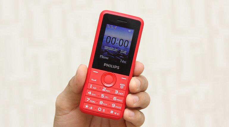 Sản phẩm điện thoại Philips E103 chất lượng