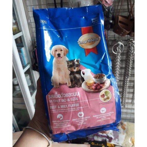 Thức ăn hạt cho chó con smartheart puppy 400g