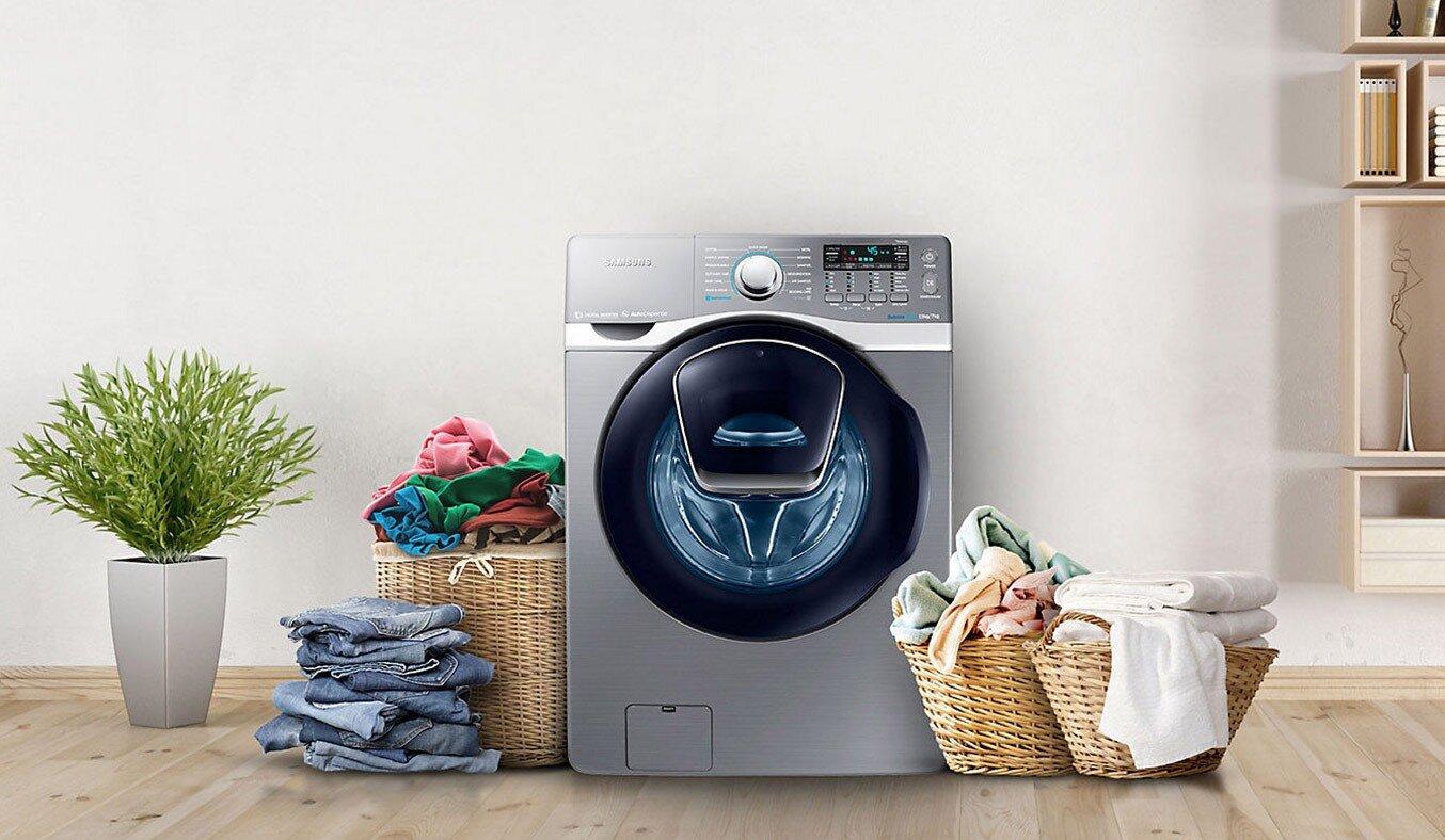 chế độ giặt ướt trên máy giặt