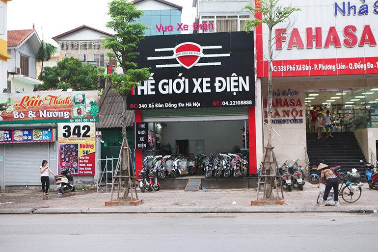 Là chuỗi cửa hàng xe điện nhập khẩu chính hãng ở Hà Nội (Nguồn: thegioixedien.com.vn)