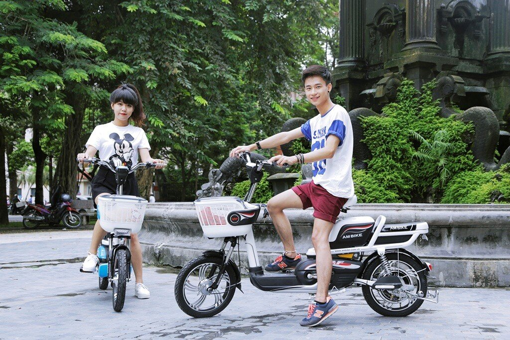 Lái xe đạp điện có tốc độ vừa phải đảm bảo độ bền xe cao