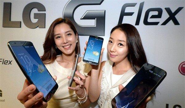 """LG G Flex m�n h�nh cong """"khoe"""" pin khủng 4 ng�y"""