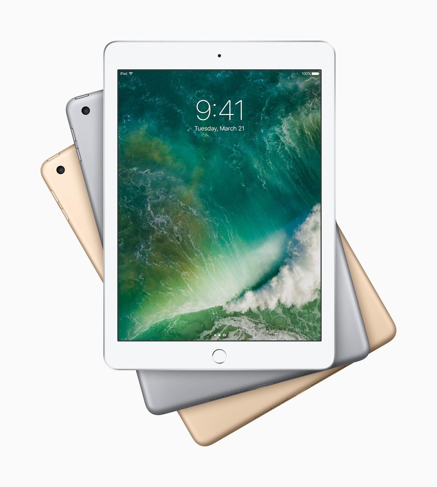 iPad 2017 sở hữu chip Apple A10X 6 nhân 64-bit có tốc độ xử lý vượt trội