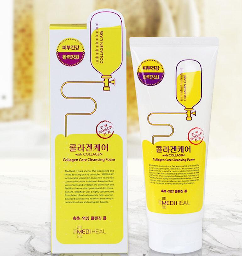 Sữa rửa mặt Mediheal Collagen Care Cleansing Foam
