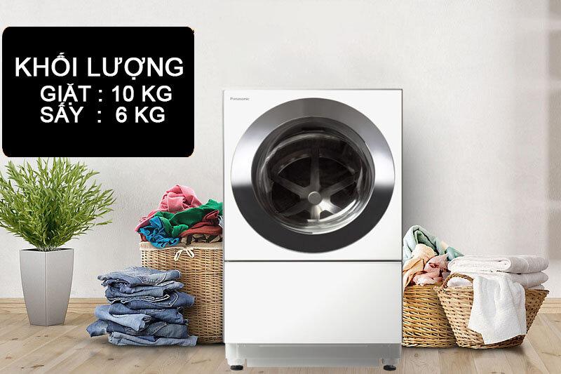 Máy giặt sấy Panasonic sở hữu thiết kế đẹp và tinh tế
