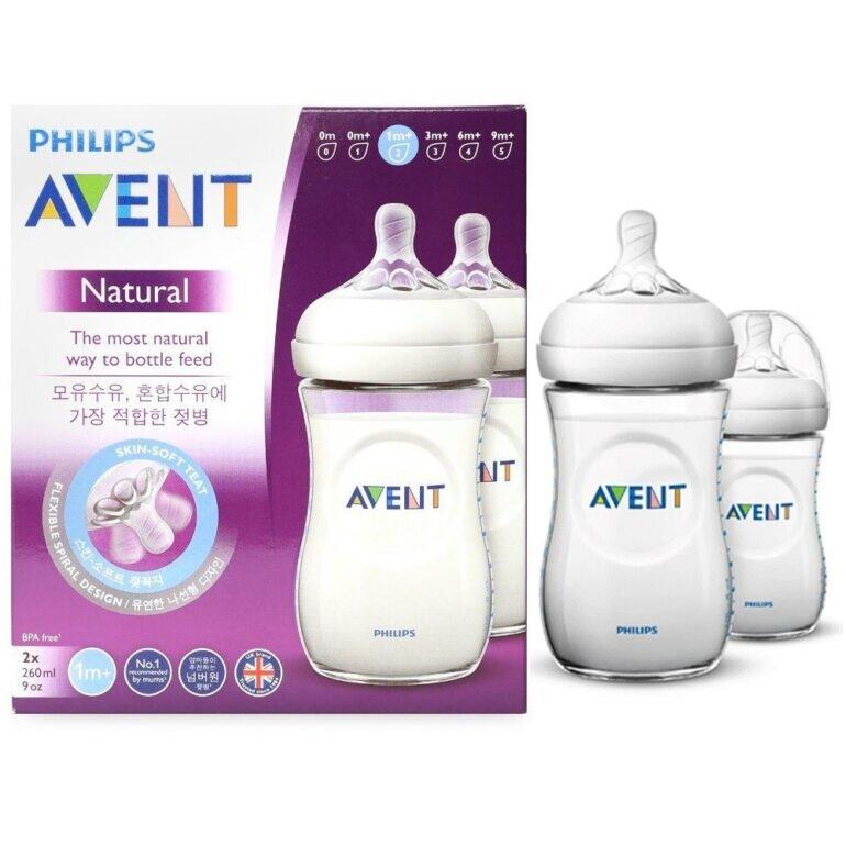 4 đặc điểm nổi bật của bình sữa Avent