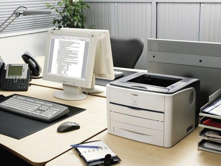 Thiết kế của máy in LBP 3300