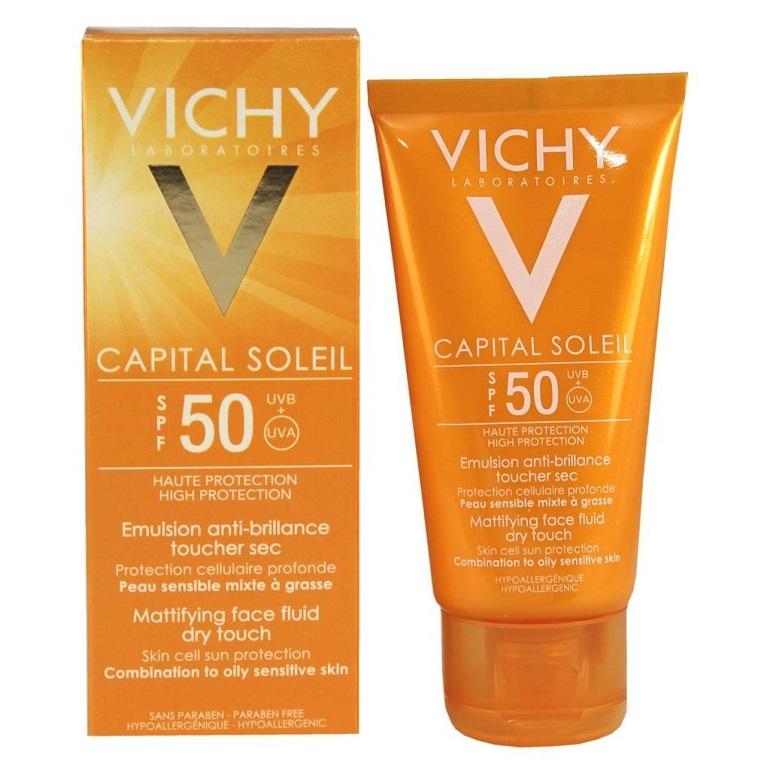 Kem chống nắng hãng Vichy