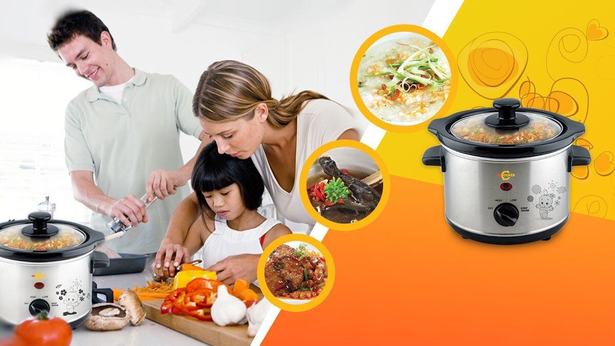 Nồi đa năng BBCooker BS07 mang đến bữa cơm gia đình trọn vẹn