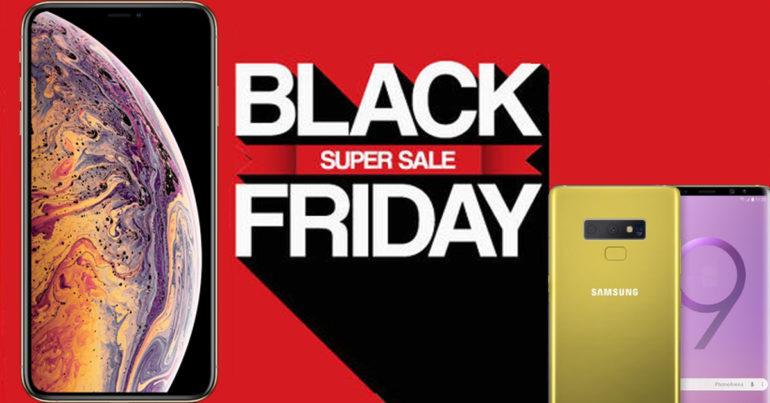 Samsung Galaxy Note9 , S9 , iPhone XS Max , XS , XR sẽ không giảm giá vào ngày Black Friday và đây là lý do