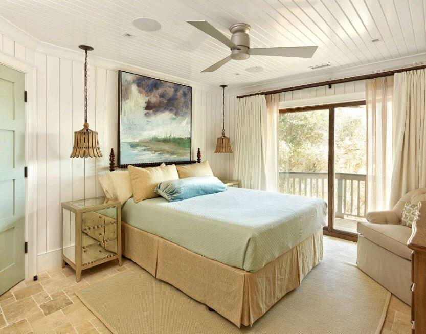 Những thiết kế quạt trần trang trí đẹp cho phòng ngủ hiện đại | websosanh.vn