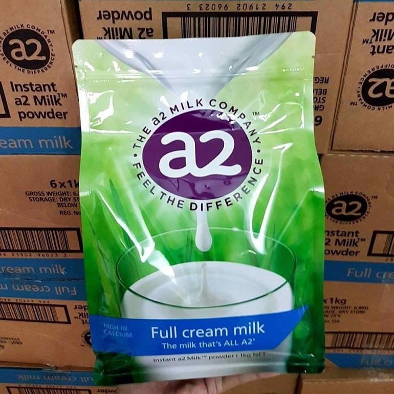 cách pha sữa a2 và milo | Món Miền Trung
