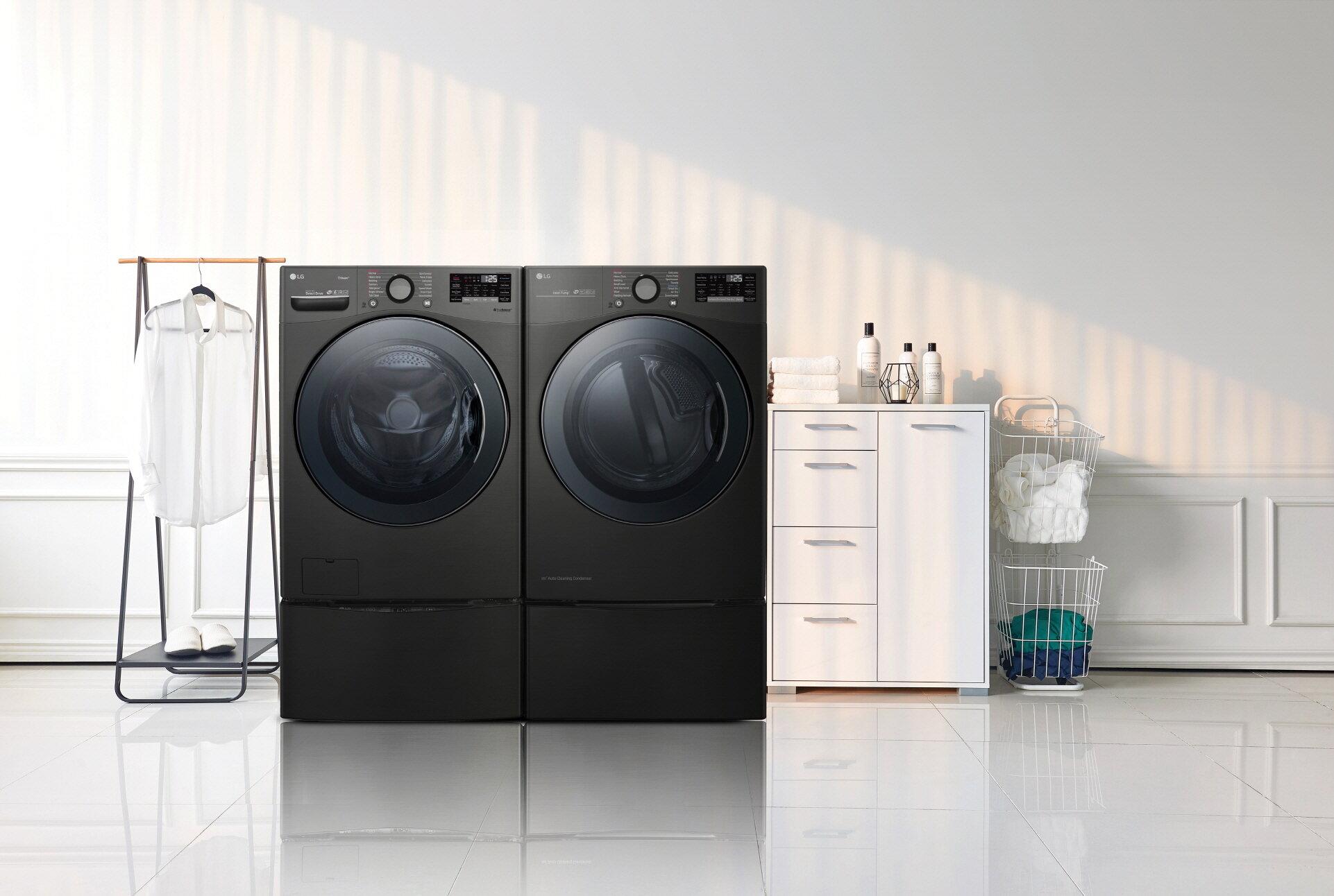 Máy giặt LG cửa trước có nhiều chức năng hiện đại