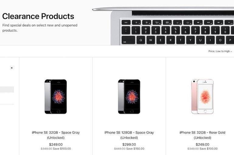 iPhone se xả kho