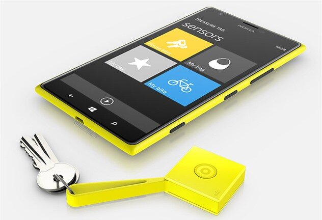 Nokia Treasure Tag feat Nokia Treasure Tag is a $30 Lumia accessory to help keep valuables safe goes on sale in April