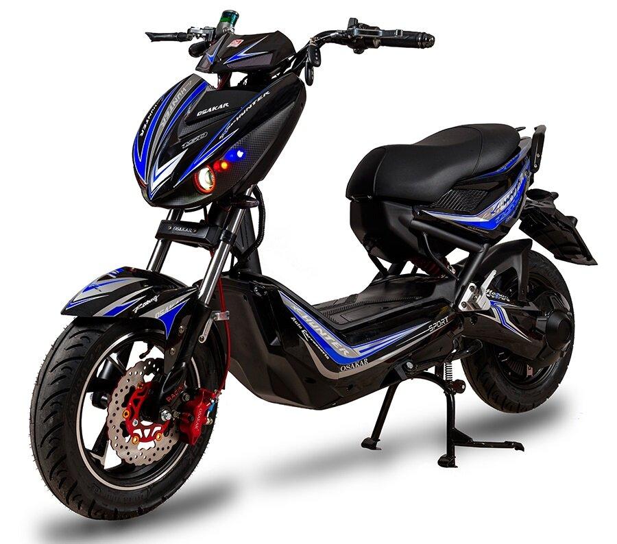 Điểm cộng của xe máy điện Xmen Hunter là vận hành mạnh mẽ, giá cả hợp lý